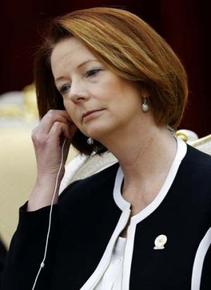 Julia Gillard ... told her law firm partners she knew nothing about the mortgage on a Fitzroy property.