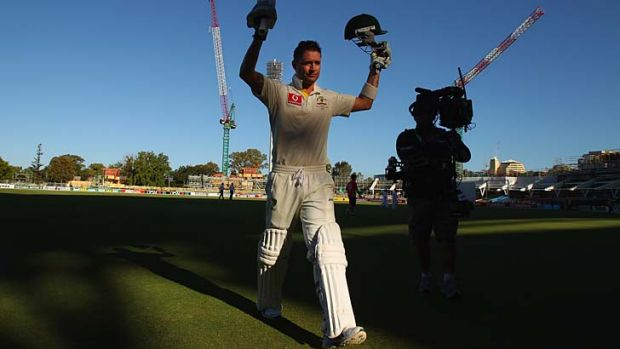 """When you're scoring runs you want to cash in, and that's what I'm trying to do"" ... Michael Clarke."