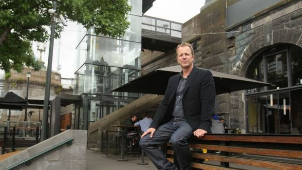 Mark Healy at the Riverland Vaults: 'I couldn't believe ... it was boarded up.'