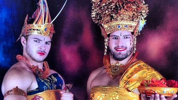 Katut and Rhonda … and their Balinese adventures shared on Instagram.