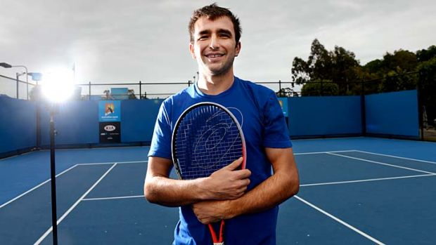 Top dog: Marinko Matosevic has broken into the top 50 and become Australia's No. 1-ranked player.