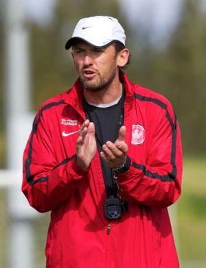 Belief in his players ... Tony Popovic.