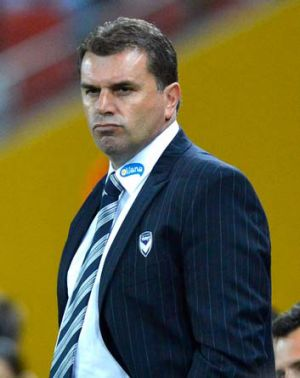 """""""I think they've been outstanding, to be honest"""" ... Ange Postecoglou comments on the Wanderers' performance."""