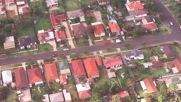 Crime hub ... Telopea Street, Punchbowl was a magnet for criminal activity a decade ago.