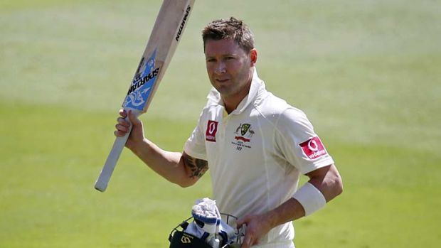 World's No:1 ... Michael Clarke.