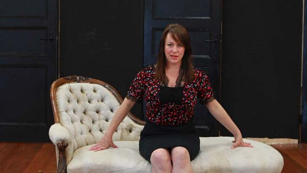 Female identity … Sacha Horler plays the target of sexual attention.
