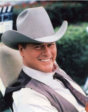TV star ... Larry Hagman.