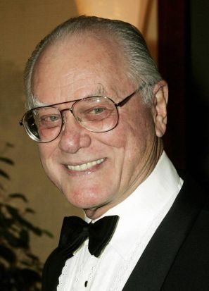 Larry Hagman arrives at the Thalians 50th anniversary gala in Los Angeles in 2005.