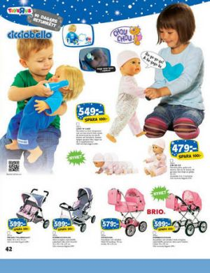 The Swedish Toy R Us catalogue aiming to debunk gender stereotypes.