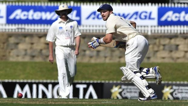 David Dawson scored 148 for NSW Second XI against ACT Comets at Manuka Oval in October.