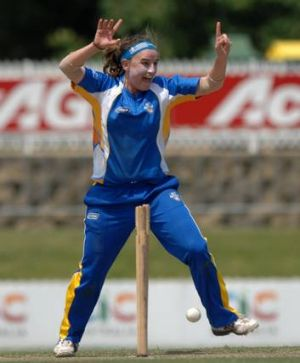 Kate Owen helped the ACT Meteors to a Twenty20 win over Tasmania on Sunday.