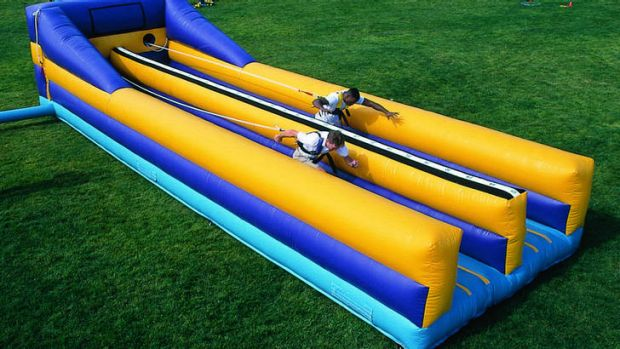 A bungee run will be part of the first Christmas Carnival in the City.