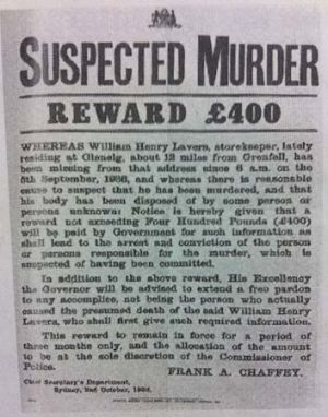 Wanted ... a poster from the time.