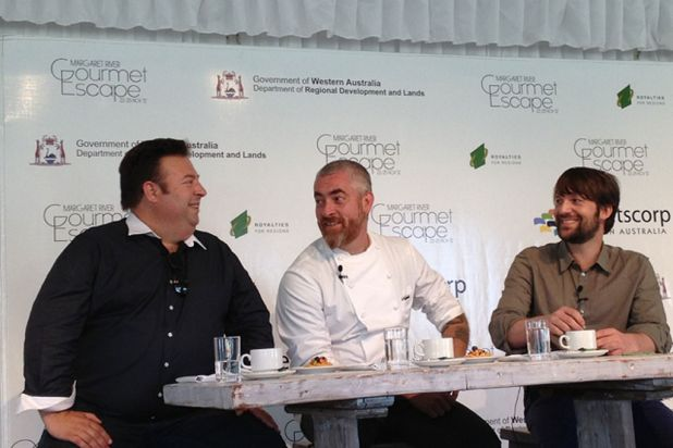 Peter Gilmore (Quay), Alex Atala (D.O.M.) and Rene Redzepi (Noma) gave their thoughts and predictions on the future of food.