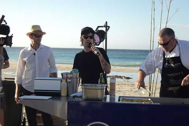 BBQ Beach Dinner at Smiths Beach, as part of the Gourmet Escape - Margaret River 2012