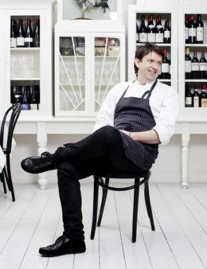 Cutler & Co. chef Andrew McConnell kicks back.