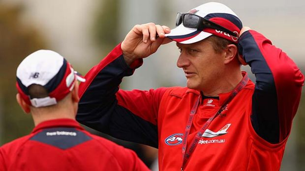 Melbourne coach Mark Neeld.