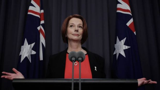 Prime Minister Julia Gillard ran down the clock and the journalists during Monday's press conference.
