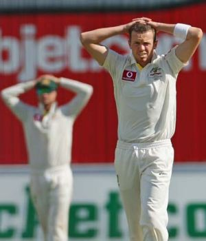 """""""He deserves a lot of credit and I'm confident he will be OK leading into Perth"""" ... captain Michael Clarke on Peter Siddle."""