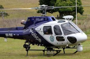 The Polair 3 helicopter.
