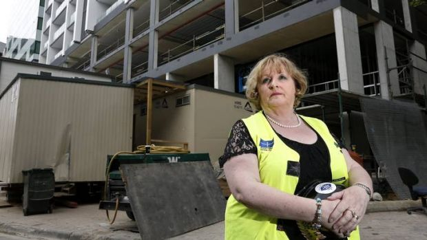 Psychologist Carmel O'Sullivan has worked with workers and their families who have been affected by accidents in the ACT ...