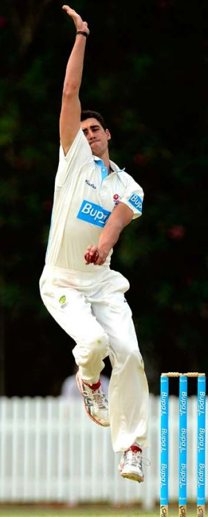 Variation ... Mitchell Starc.