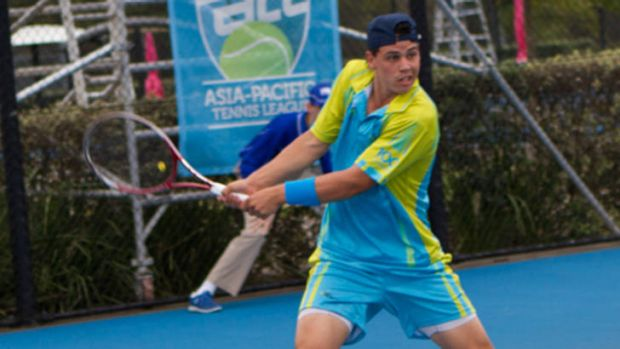 Canberra's Alex Bolt lost his match on Tuesday