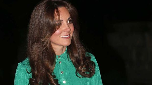 Cut above the rest ...  ... Catherine, Duchess of Cambridge, has a new hairstyle.