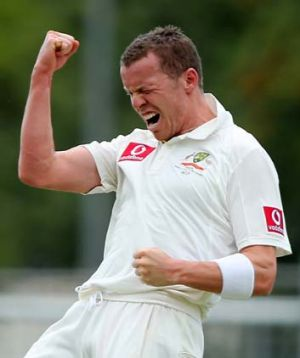 Peter Siddle ... Australia's selectors might be ready to take a risk on the paceman against South Africa.