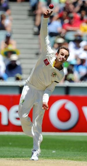 Nathan Lyon ... has recieved backing from Bruce Yardley.