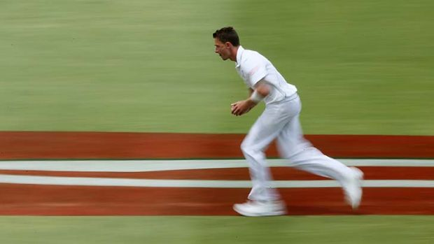 Quiet tour ... South African spearhead Dale Steyn.
