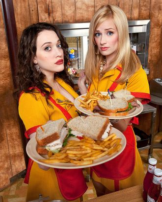 7. 2 Broke Girls fails to understand the distinction between transgressive and pointlessly offensive.