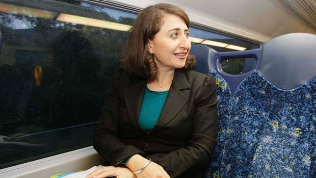 "The ""car as the sole focus of transport is past its use-by date"" ... Transport Minister, Gladys Berejiklian."