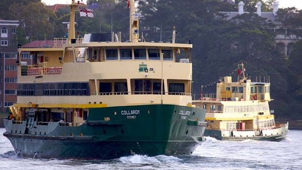 The MyMulti1 tickets won't be able to be used on Sydney's ferries.