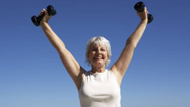 Strength training offsets some age-related changes.