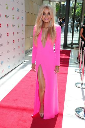 Havana Brown at the 2012 ARIA's pre party.
