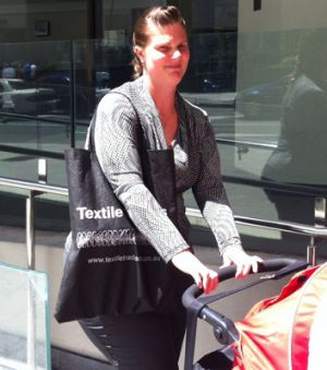 Melissa Bayle told Perth Magistrates court she coughed up metal from a Hungry Jack's onion ring.