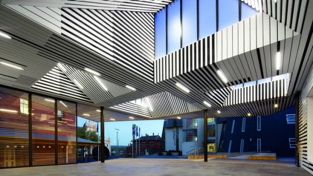 The Art Gallery Of Ballarat Annexe by Searle x Waldron architects is a flexible and dynamic space that can be used for ...
