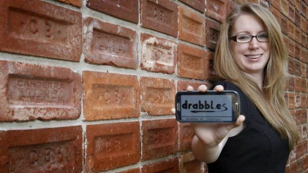 Ellen Harvey from Griffith has created <i>Drabbles</i>, a website for short stories and blogs.