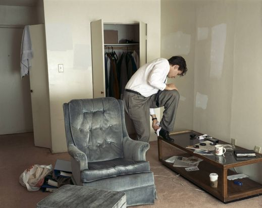 Jeff Wall's Polishing, 1998.