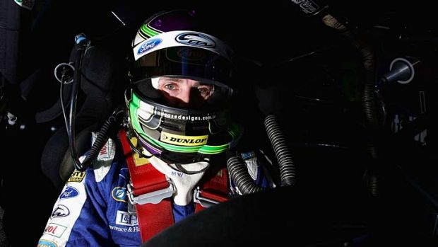"""As soon as you put your helmet on ...  the competitive streak sets in"" ... Mark Winterbottom."
