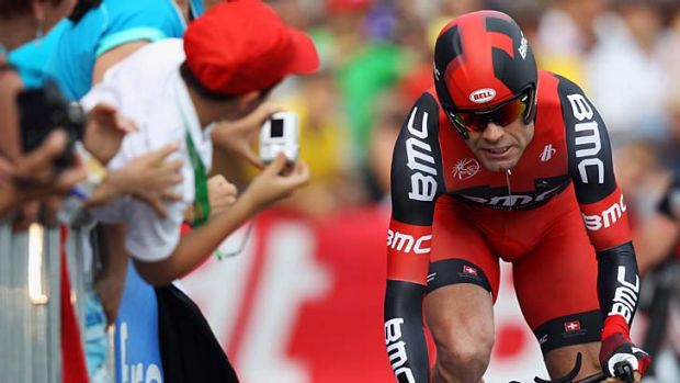 Game plan … Cadel Evans will head to training camps in Europe to prepare for next year's Tour de France.