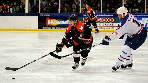 The biggest ice hockey extravaganza in Australian history is promised next June.
