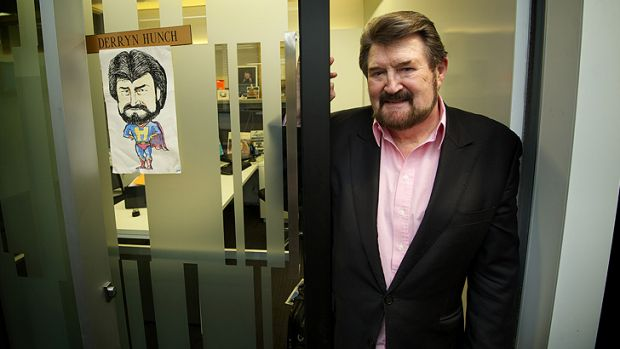 Derryn Hinch will soon debut on Channel Seven's <i>Sunday Night</i>.