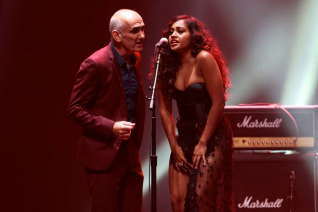 Paul Kelly and Jessica Mauboy.