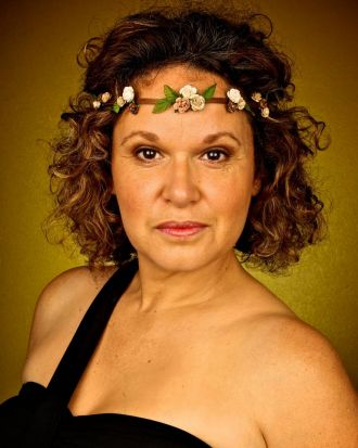 "Leah Purcell, star of the one woman show, ""Don't Take Your Love To Town"", at The Belvoir Theatre in Surry Hills."