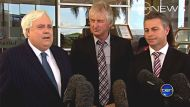 Clive Palmer, Ray Hopper and Carl Judge