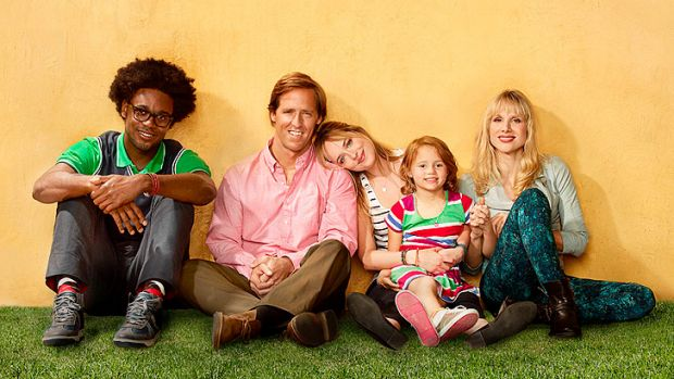 The cast of <i>Ben and Kate</i>.