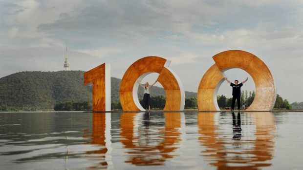 Chief Minister Katy Gallagher and Centenary of Canberra creative director Robyn Archer on Friday morning marked the ...
