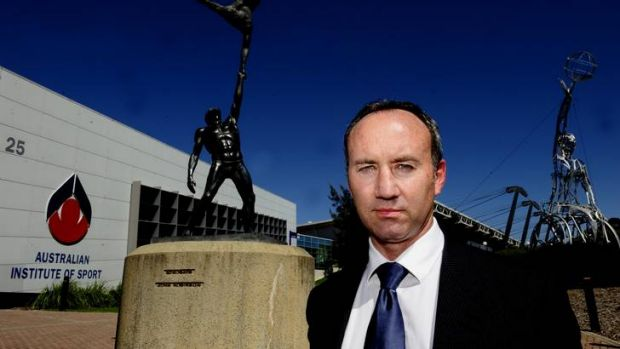 New AIS boss Matt Favier says Canberra will remain the headquarters of the AIS, with an emphasis on sports science.
